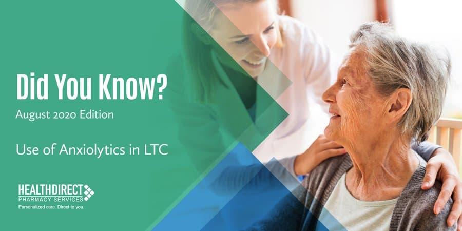 Use of Anxiolytics in LTC