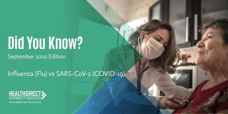 Flu vs COVID-19